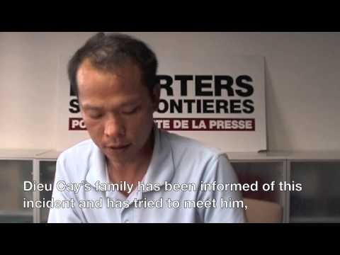 Bui Thanh Hieu (Wind Trader) speaks to RSF on Dieu Cay's situation