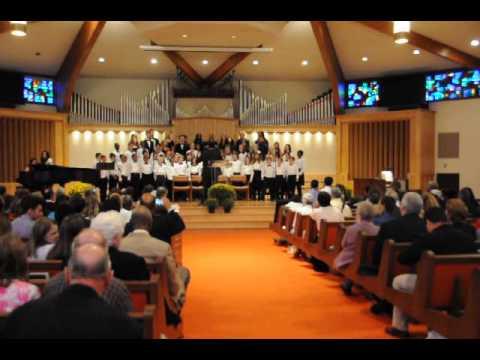Shenandoah Valley Academy Shenandoans & SVA Elementary Choir - Choral Response