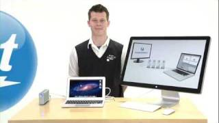 Abt Electronics_ Thunderbolt - Apple Mac Book Air to LaCie Hard Drive Data Transfer