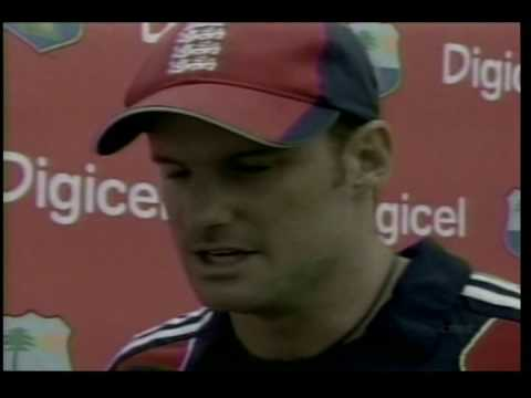 Strauss speaks- Post match ceremony- 3rd ODI in Barbados