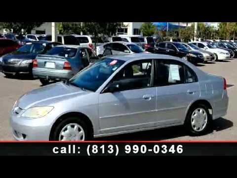 2005 Honda Civic - Credit Union Dealer - Brandon Honda - Br