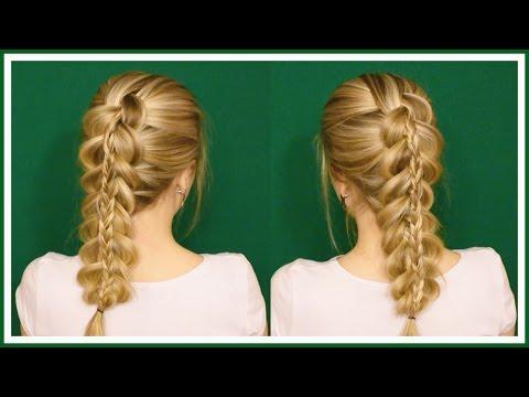 Причёски своими руками французская коса