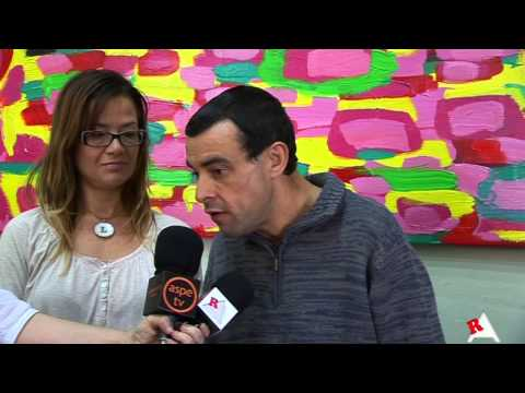 Presentación del mural de Juan Carlos Botella
