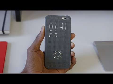 HTC One M8 Dot View Case!