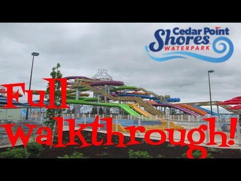 Cedar Point Shores. full walkthrough!