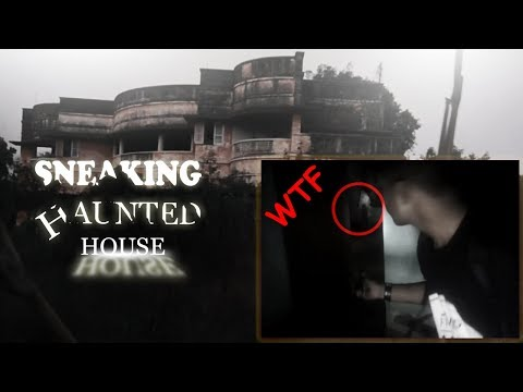 sneaking into haunted house! | mysterious room (shocked)