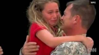 Soldier Surprises Daughter at Spelling Bee