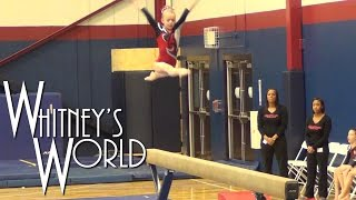 Whitney | Level 4 Beam (9.8) State Gymnastics Team Meet