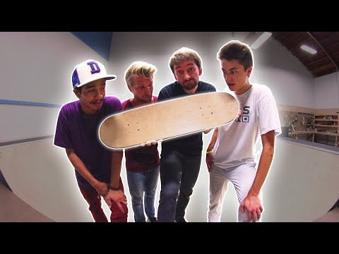 NO GRIPTAPE MINI RAMP GAME OF SKATE *DANGEROUS*