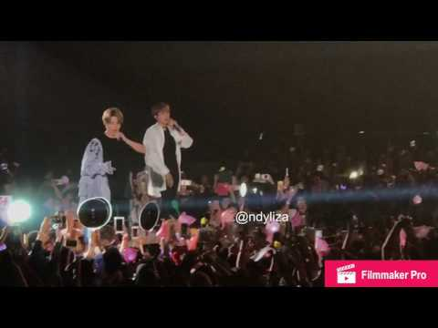 BTS - OUTRO: WINGS & VLOG @ WINGS TOUR IN JAKARTA 170429 ( FANCAM )