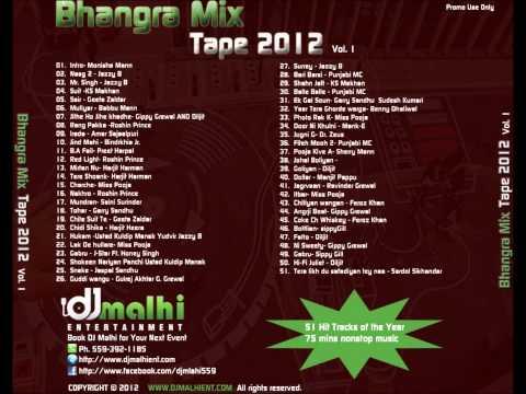 Dj Malhi Non-stop Bhangra Mixtape video