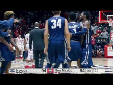 Nevada 105 New Mexico 104 | Unreal Comeback by Nevada Men's Basketball