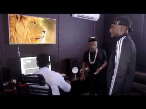 2Face & Wizkid - #HennessyArtistry2014 Theme Song [Studio Session]