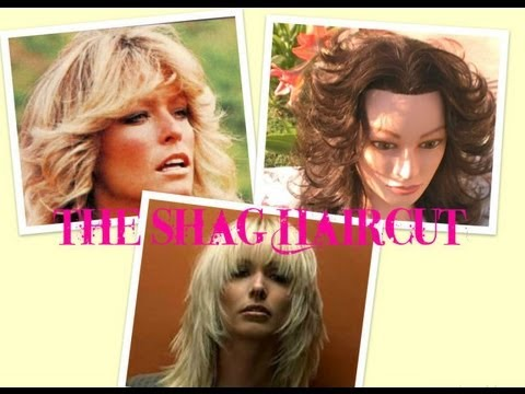 How to: cut hair do a Shag Haircut, short Layered haircut styles Farrah Fawcett Haircut Gypsy