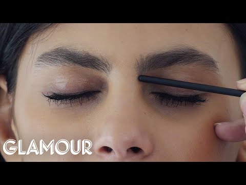 How to Shape Your Eyebrows   Glamour