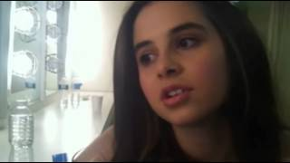 Carly Rose Sonenclar at Gannett Front backstage interview
