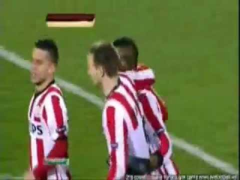 European league trabzonspor 1 2 psv gol tim matav 6