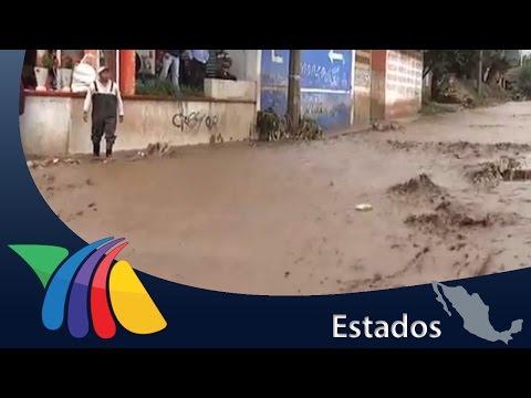 Río El Arenal se desborda; daños materiales | Noticias del Estado de México