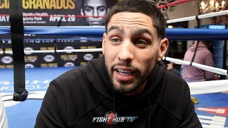 DANNY GARCIA RESPONDS TO BOB ARUM SAYING SPENCE IS ONLY ELITE PBC WELTERWEIGHT