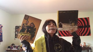 21 Pilots Unboxing (Girl Turns Emo)
