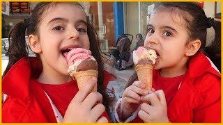 Prenses Rüya Dondurma Keyfi Yaptı | Eğlenceli Çocuk Videosu