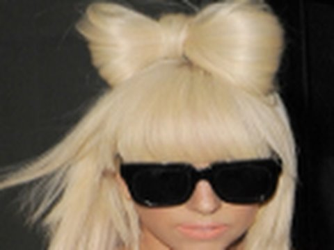 Lady Gaga Poker Face Bow Hair in HD