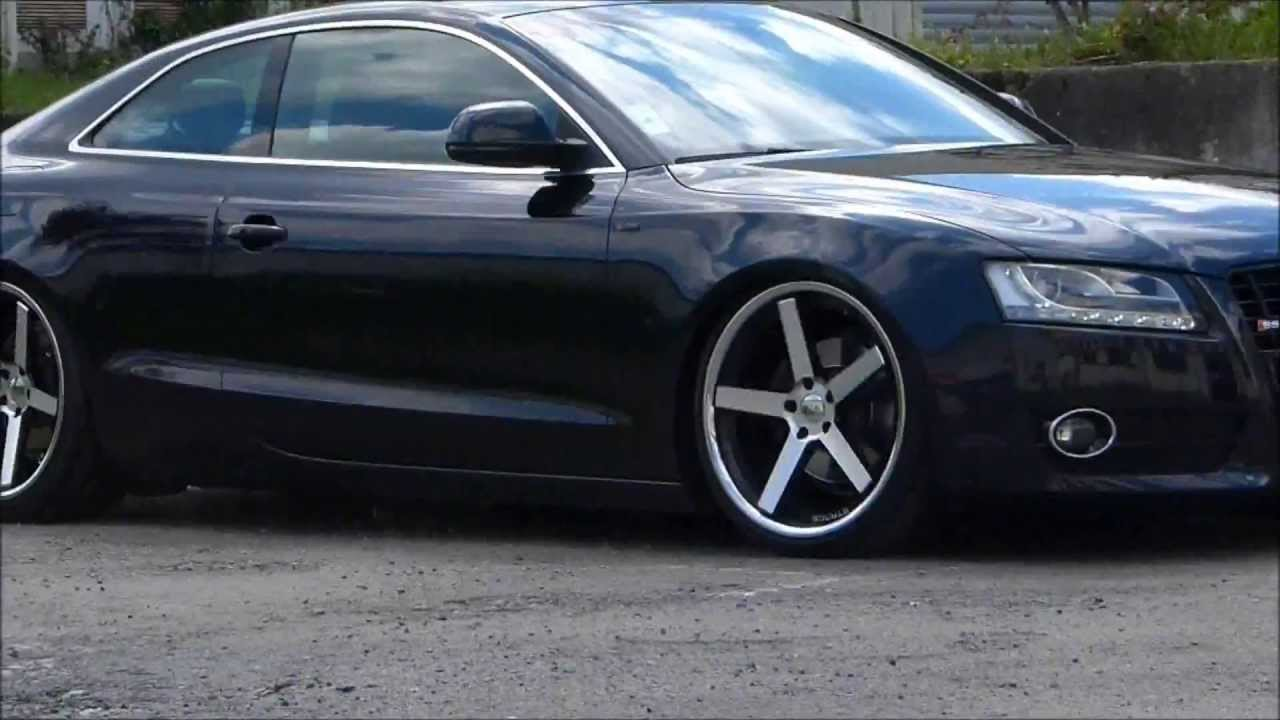 Audi A5 Stance Wheels SC 5-ive and VW Touran - YouTube