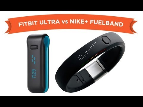New Nike Fuel band vs fitbit REVIEW