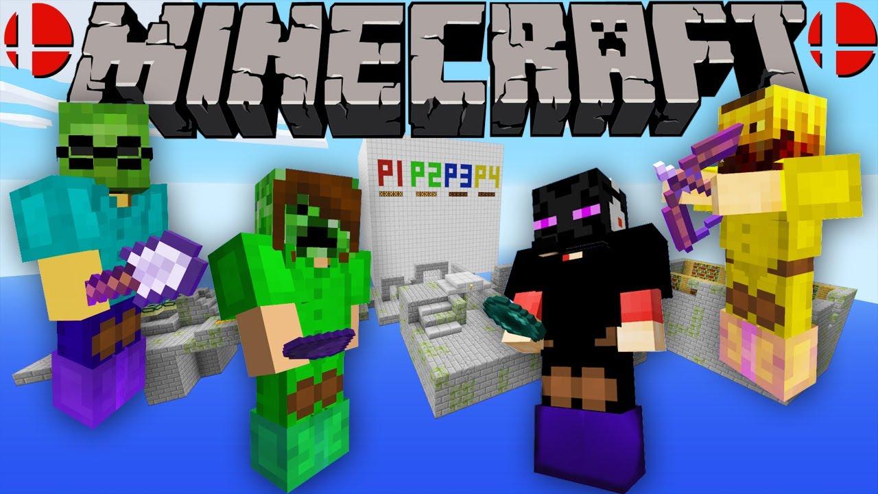 Minecraft Super Craft Bros