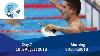 Day 7 Morning | 2018 World Para Swimming Allianz European Championships
