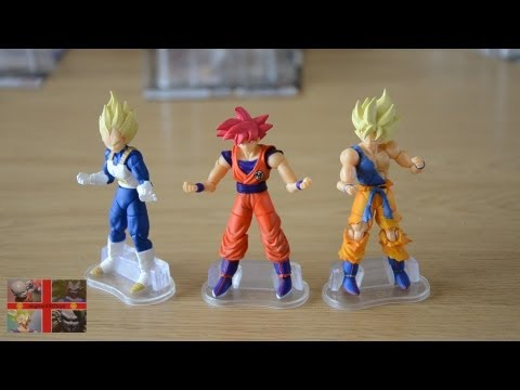 Dragonball Battle Of Gods: Shodo God Goku figure set