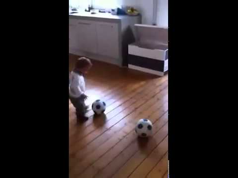 Little Football Player May become Ronaldo / Messi