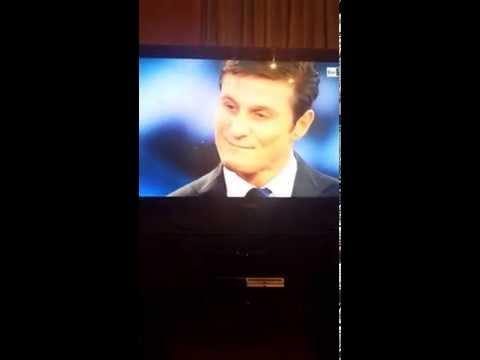 Javier Zanetti Inter_Ospite a Sanremo 2015_