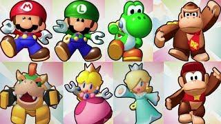 Mini Mario & Friends: amiibo Challenge - All Characters