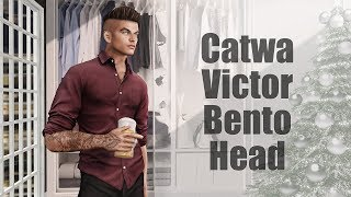 Catwa Victor Bento Mesh Head in Second Life