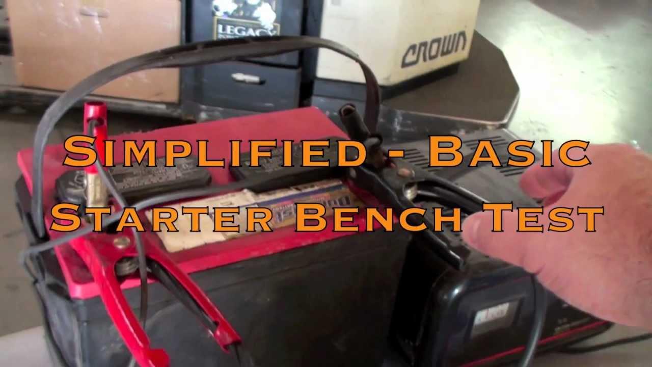 Bench Testing A Ford Alternator