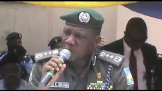 Here is the original speech of IG in Kano state of which they've tampered with.