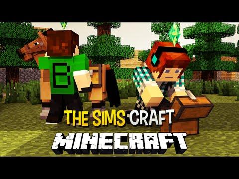 The Sims Craft Ep.15 - A Jornada da Betinha !! - Minecraft