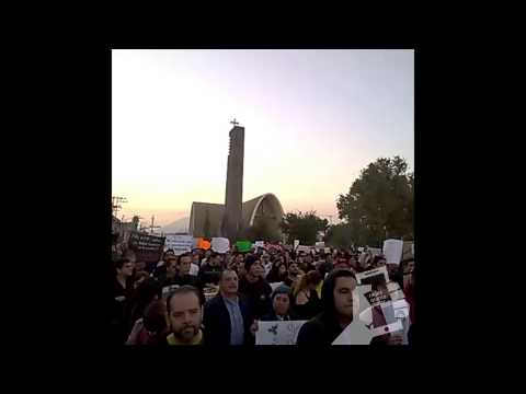 Marcha Monterrey con Ayotzinapa 20 de noviembre 2014