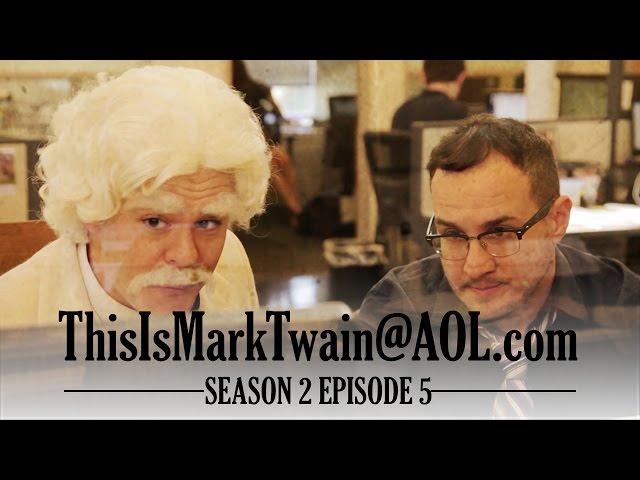 Mark Twain & Jason Horton Take on Wikipedia!  - ThisIsMarkTwain@aol.com - Season 2 Ep 5
