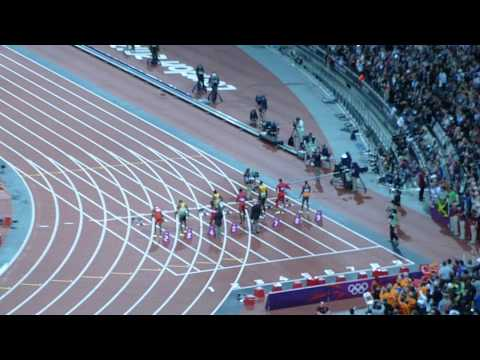 Usain Bolt 100M FINAL RACE 9.63 GOLD 2012 London Olympics LIVE HD