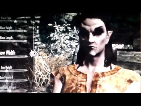 "Skyrim: How To Make A ""Hot"" Dark Elf.... (NO MODS) 