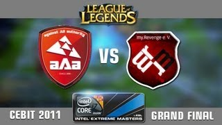 League of Legends Invitational Grand Final CeBIT 2011_  aAa vs. MyRevenge