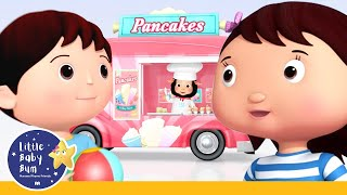10 Little Pancakes | Sing and Count | Kids songs | Little Baby Bum | Creative Club