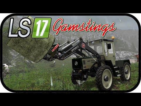LS17 Gamsting - Mischfutter für die Tiere #072 - Farming Simulator MPManager, TechFarmFinanz