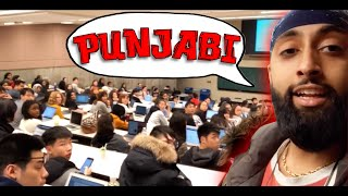 IS THIS THE PUNJABI CLASS @ York University
