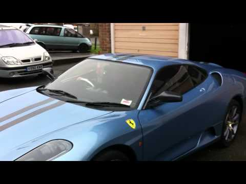 Mr2 F430 Replica kit car ferrira scudaria avio pale blue