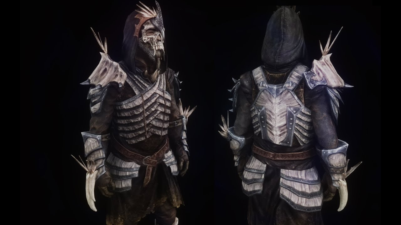 Skyrim Assassin Armor Mods Skyrim Top 5 Armor Mods