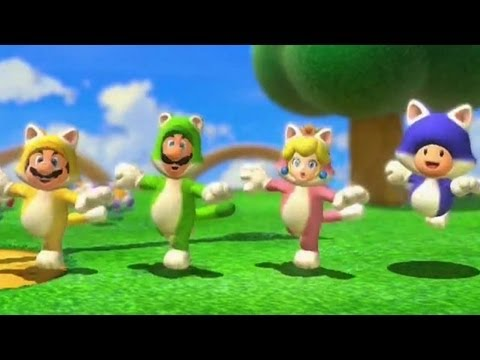 Super Mario 3D World Trailer - E3 2013