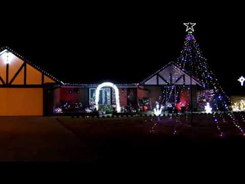 2012 MUSIC BOX DANCER CHRISTMAS WOWLIGHTS PRODUCTIONS LIGHT-O-RAMA SHOW IN OKC, OK